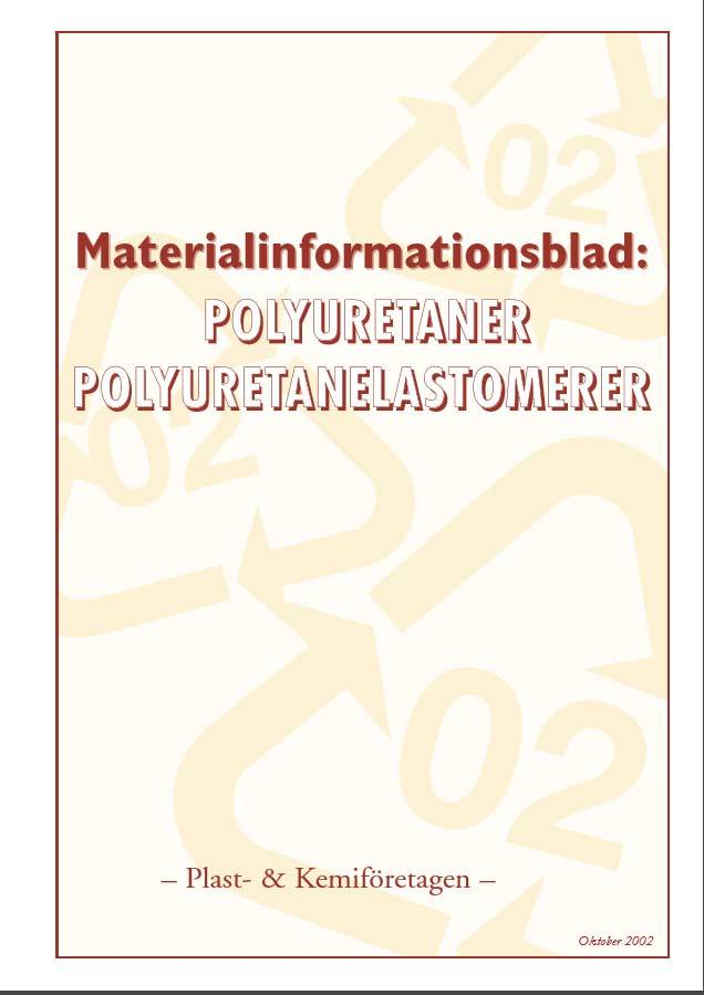 """Ladda ner """"Materialinformation PUR"""" /PDF"""