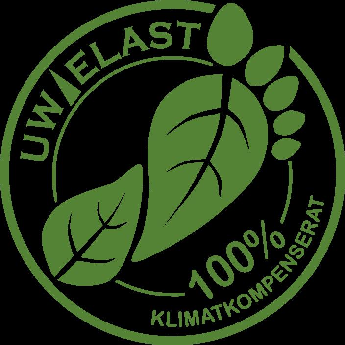 100% klimatkompenserat, UW-ELAST AB